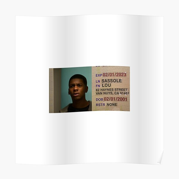 Jamal sur mon faux identifiant de bloc Poster