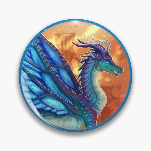 Wings of Fire - Blue Pin