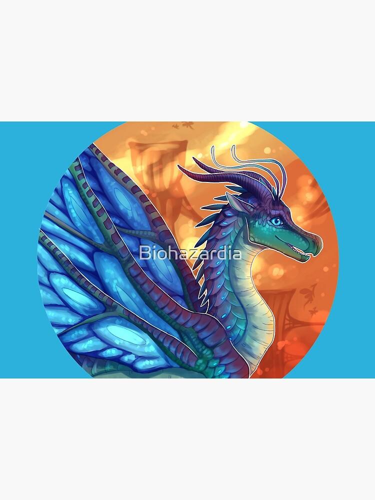 Wings of Fire - Blue by Biohazardia