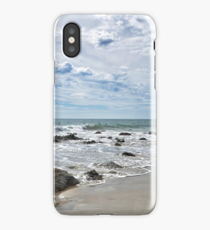 waiting for waves iPhone Case/Skin