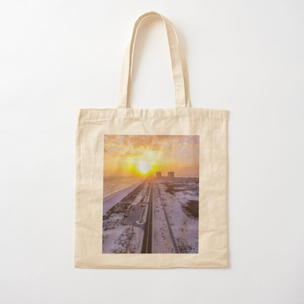 Road to Happiness Cotton Tote Bag
