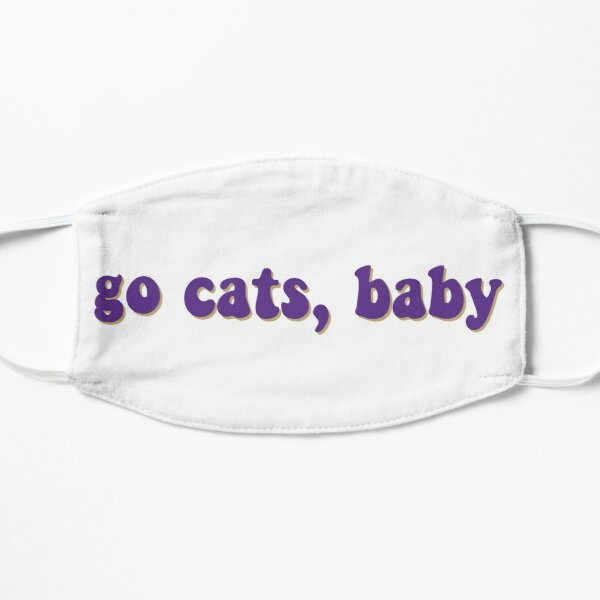 Go Cats, Baby (Horizontal) Mask