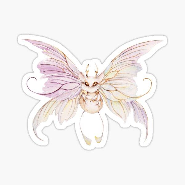 Moonlight Butterfly Sticker