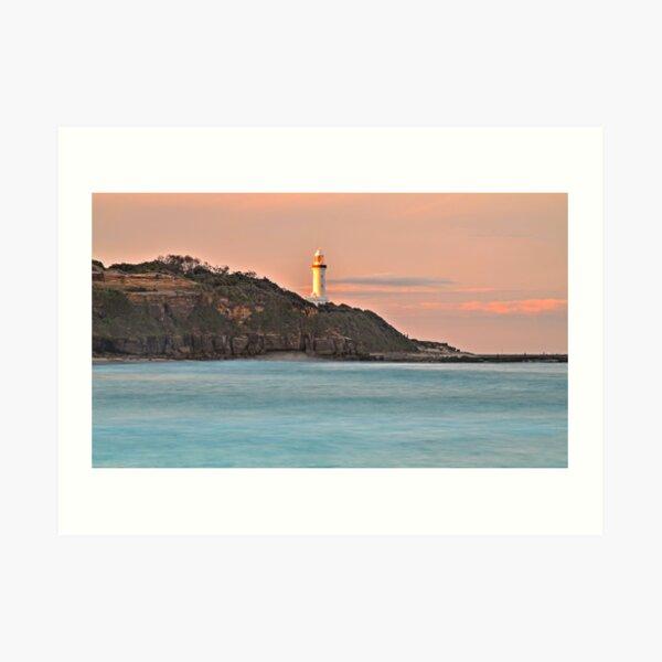 Norah Head Lighthouse Art Print