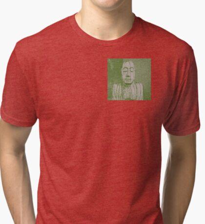 Karma in green Tri-blend T-Shirt