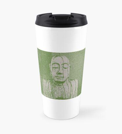 Karma in green Travel Mug