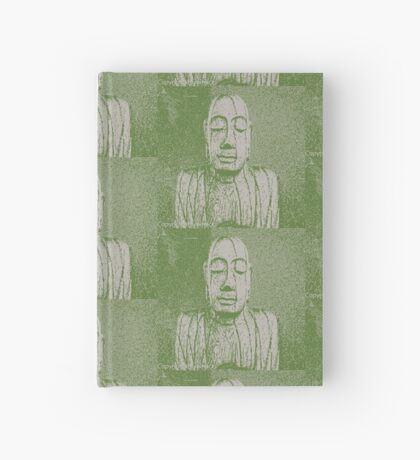Karma in green Hardcover Journal