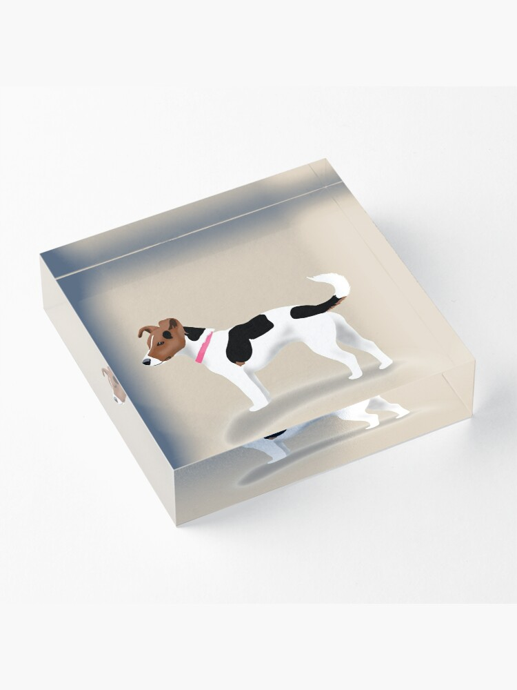 Alternate view of Jack Russell Acrylic Block