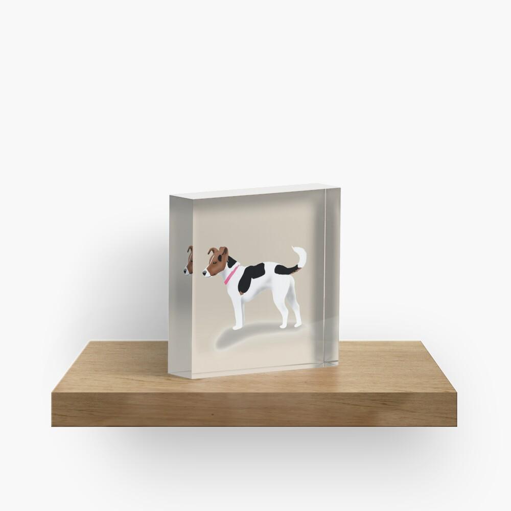 Jack Russell Acrylic Block