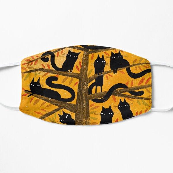 BLACK CAT TREE Mask