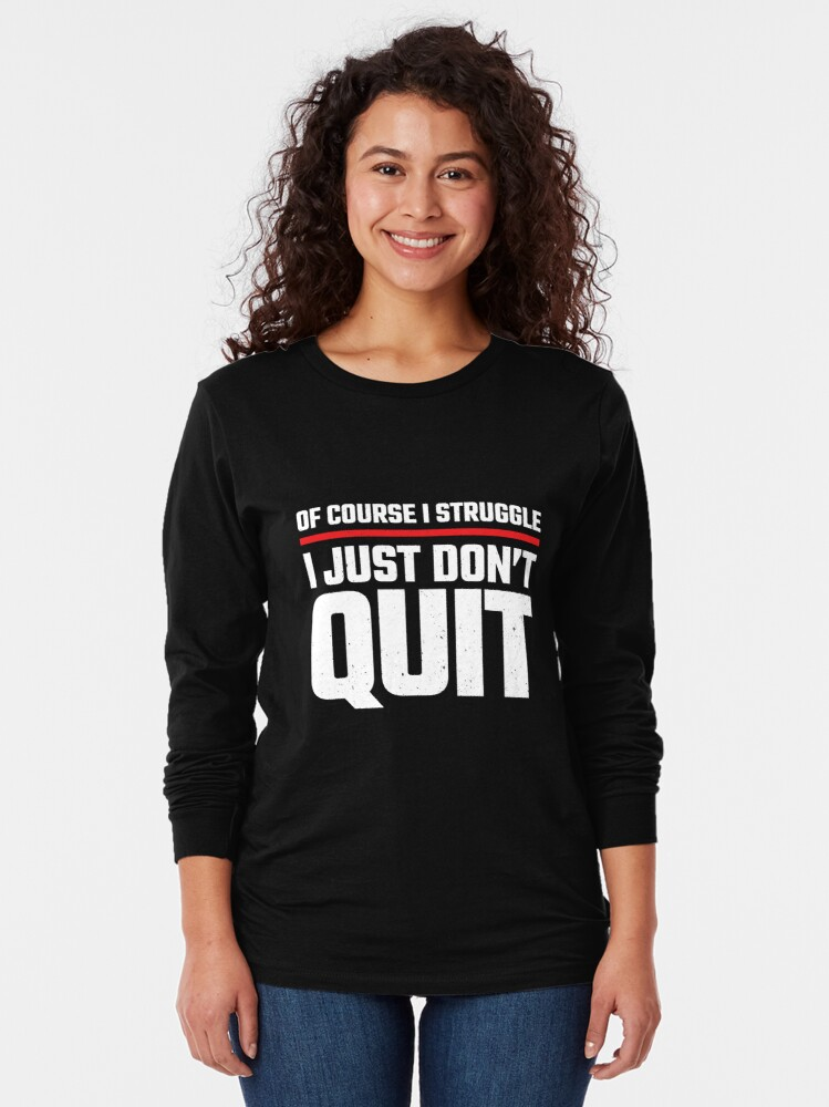 Alternate view of Health & Fitness Coach - Personal Trainer - Gym Motivation Long Sleeve T-Shirt