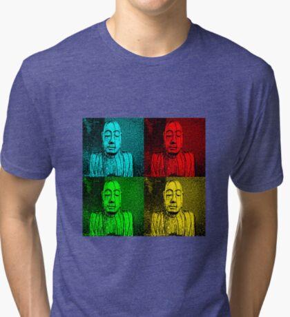 Karma Squared = 4 x the luck Tri-blend T-Shirt