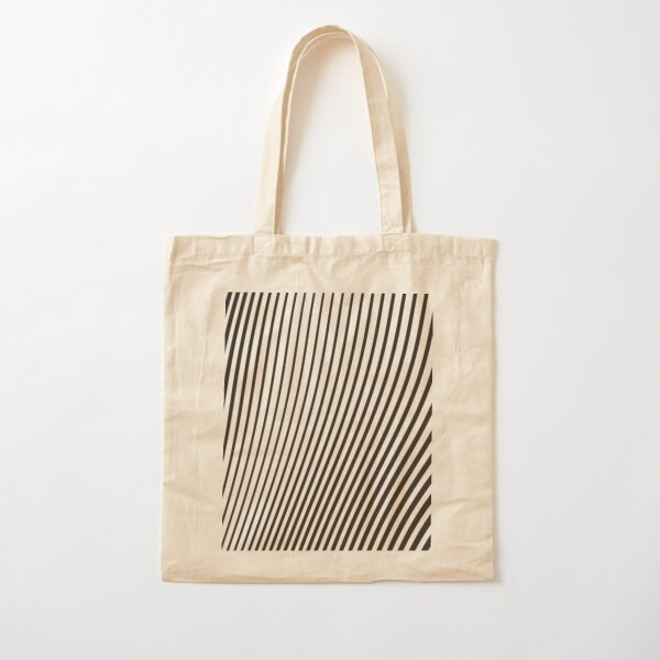 WAVE (BLACK) Bolsa de algodón
