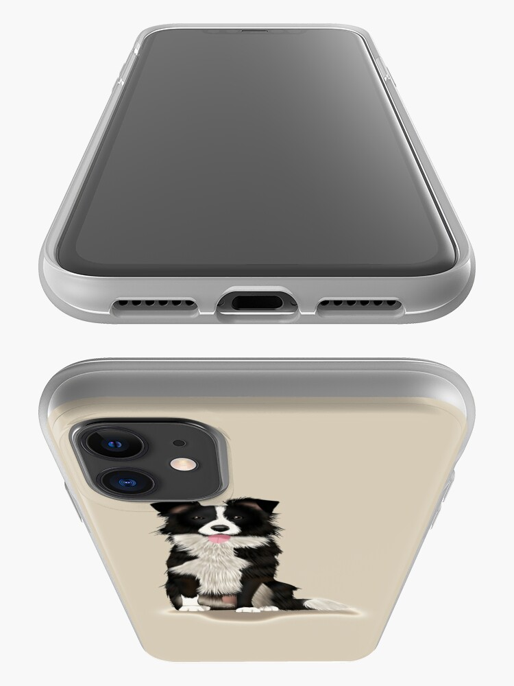 Alternate view of Border Collie iPhone Case & Cover
