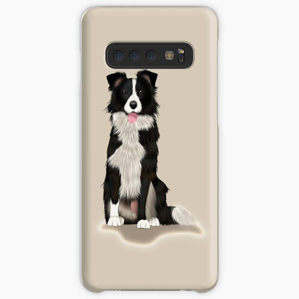 Border Collie Case & Skin for Samsung Galaxy