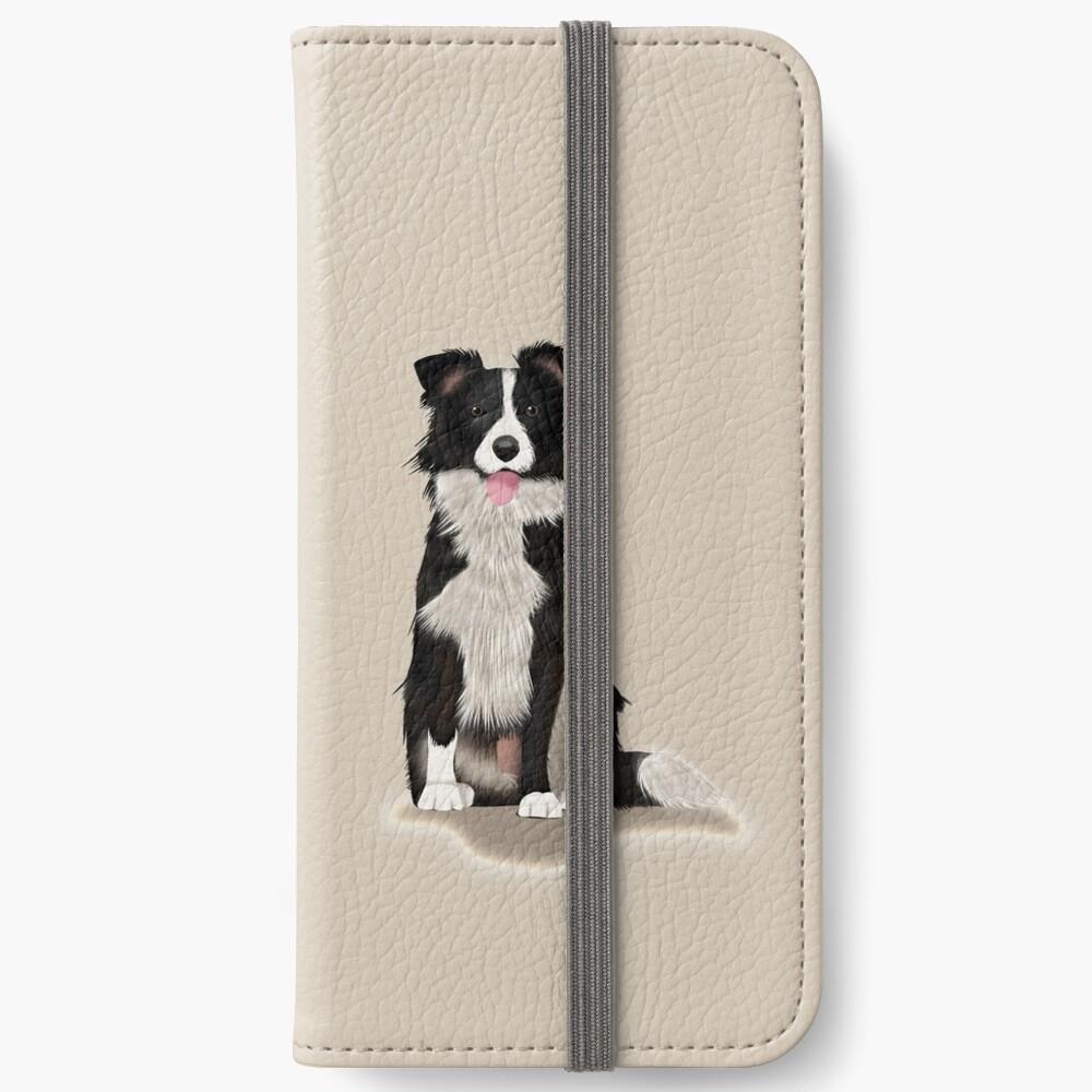 Border Collie iPhone Wallet