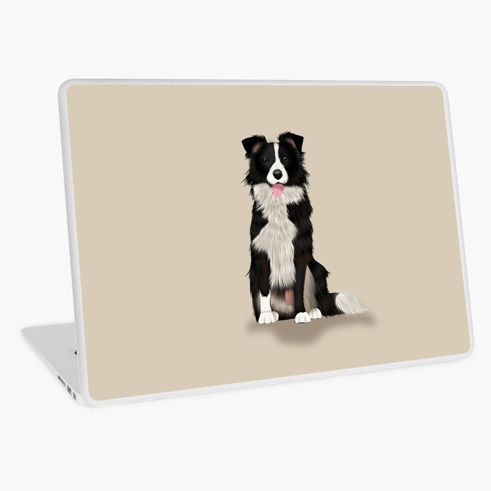 Border Collie Laptop Skin