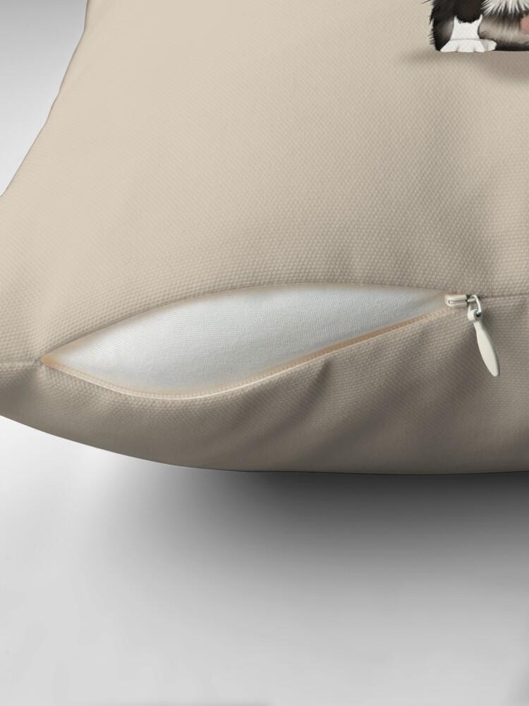 Alternate view of Border Collie Floor Pillow