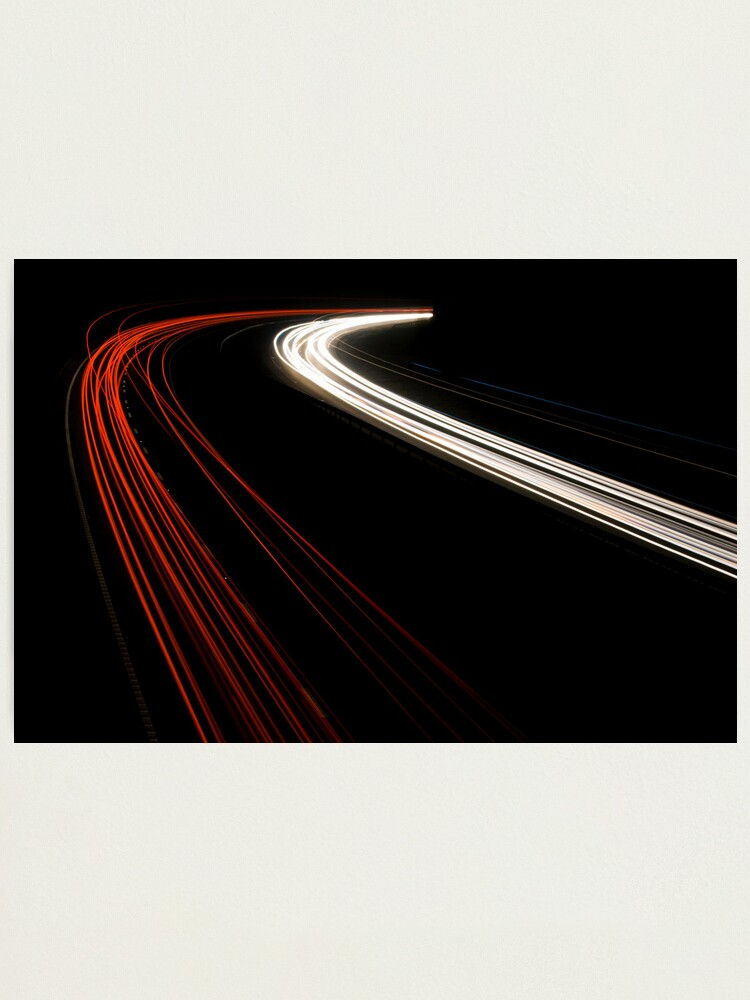 Alternate view of The Speed of Light Photographic Print