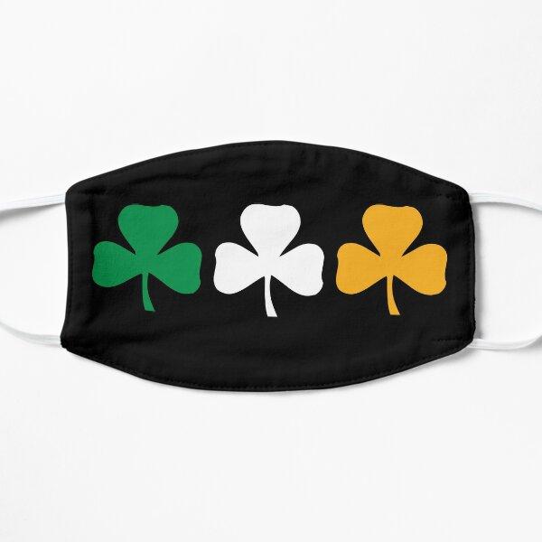 Drapeau Shamrock d'Irlande Masque taille M/L