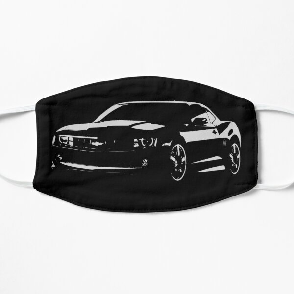 Blacked Out Chevy Camaro Mask