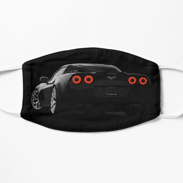 C6 Corvette Rear Blacked Out Flat Mask