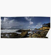 Boiler Bay Oregon Coast Poster