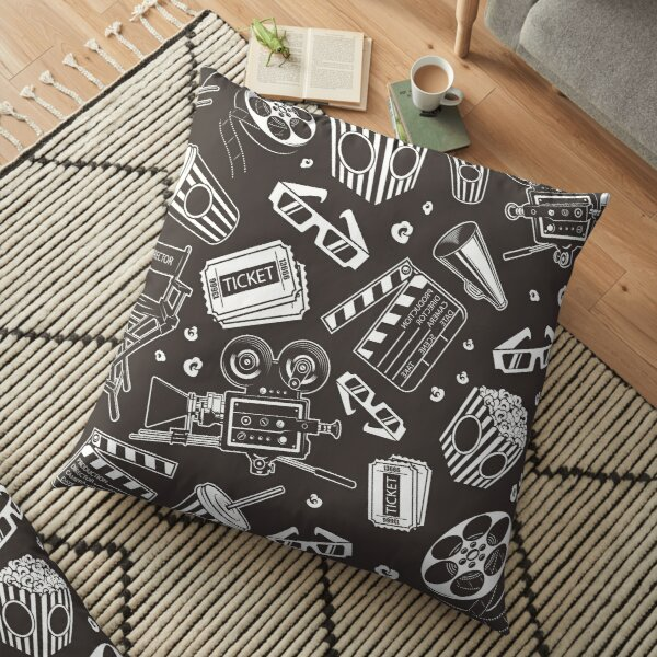 Cinema Pattern Floor Pillow