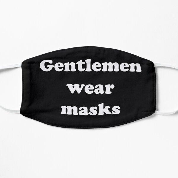 Gentlemen wear masks Mask