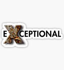 eXceptional Sticker