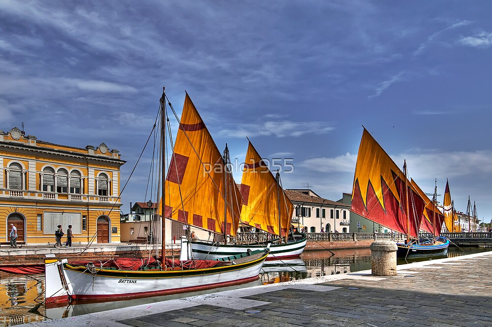 Parade of Old Boats by paolo1955