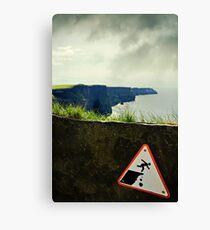 danger! Canvas Print