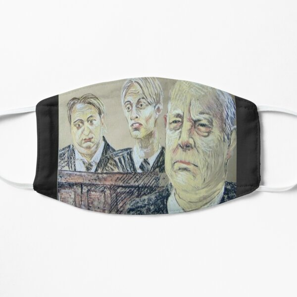 The Mucklowe's in Court Flat Mask