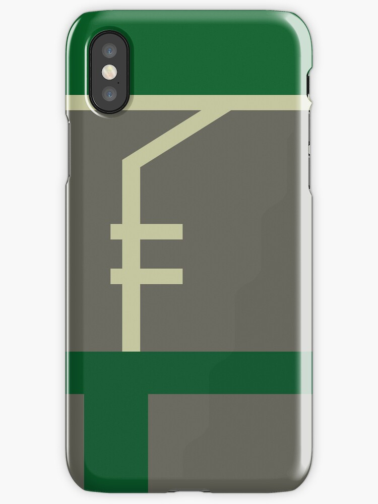 Minimalist Bolin iPhone Case by Jake Driscoll