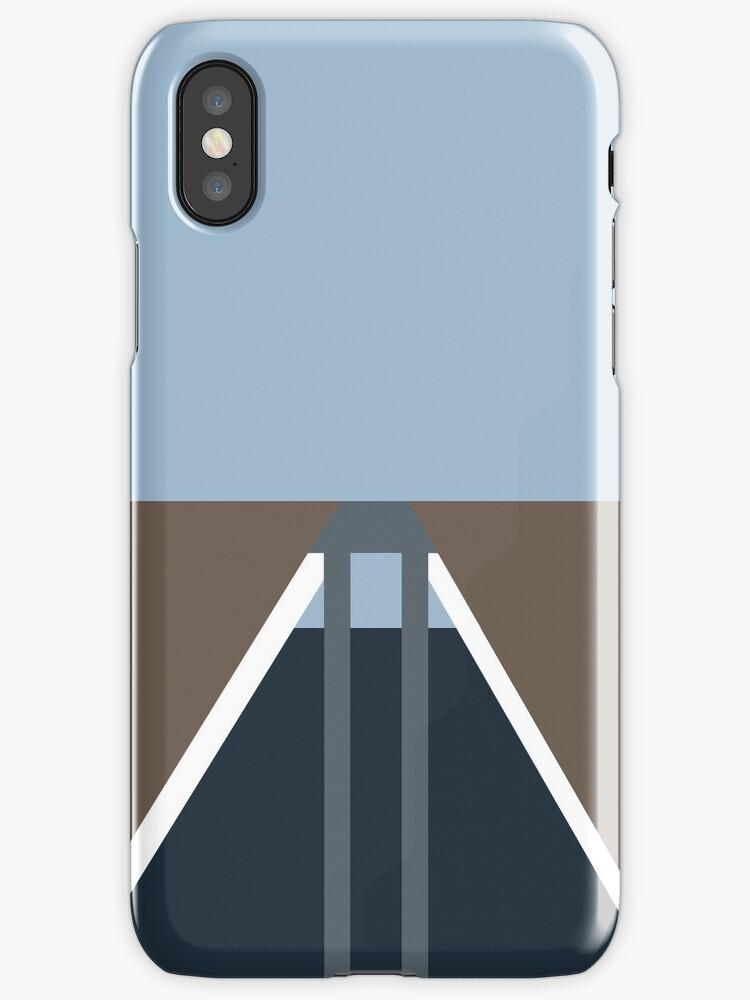 Minimalist Korra iPhone Case by Jake Driscoll
