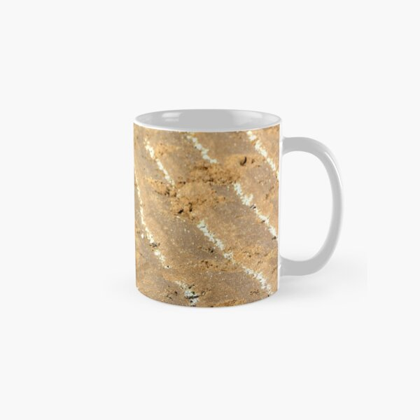 Chalk trails in the sand Classic Mug