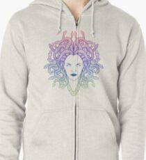 Medusa (colors) Zipped Hoodie