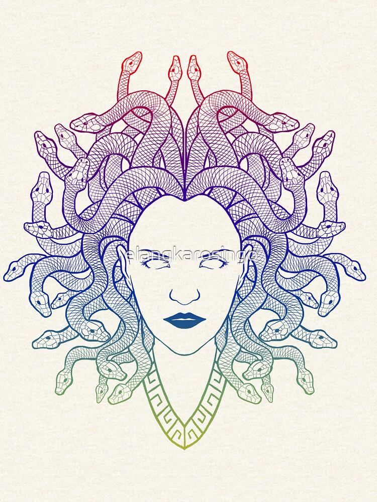 Medusa (colors) by elangkarosingo