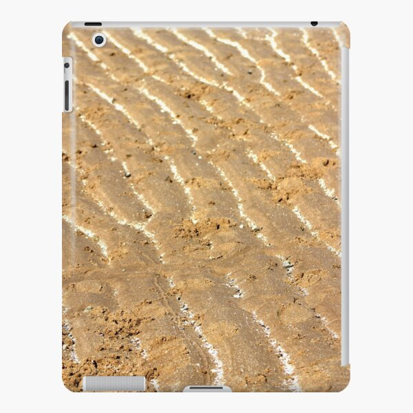 Chalk trails in the sand iPad Snap Case