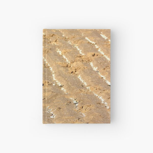 Chalk trails in the sand Hardcover Journal