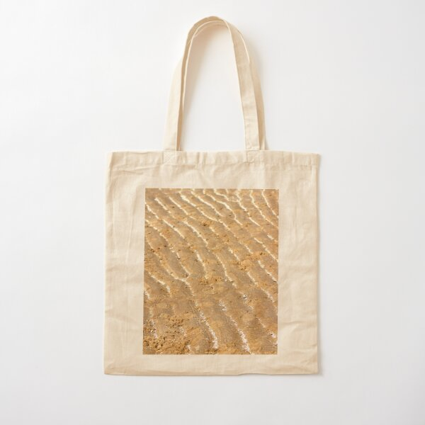 Chalk trails in the sand Cotton Tote Bag