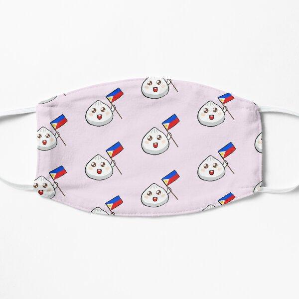 Niedliche Flaggen-Digital-Kunst Siopao Philippinen Flache Maske