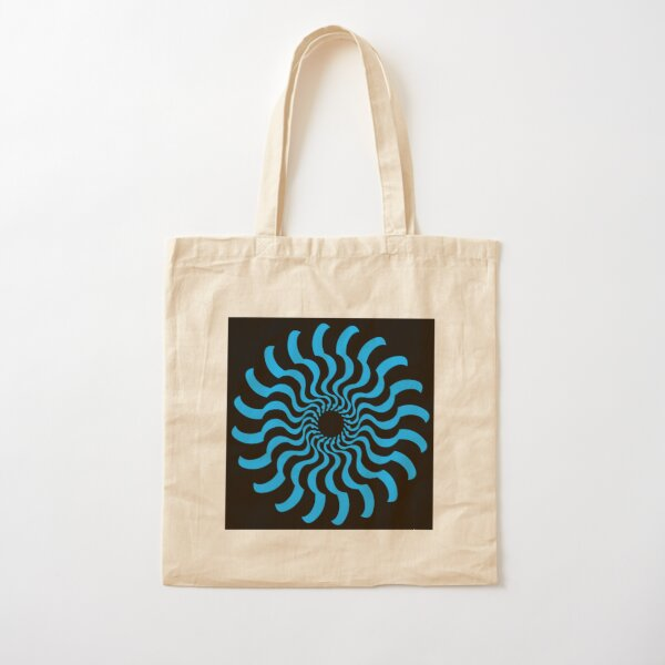 EYE 2 (BLUE) Bolsa de algodón