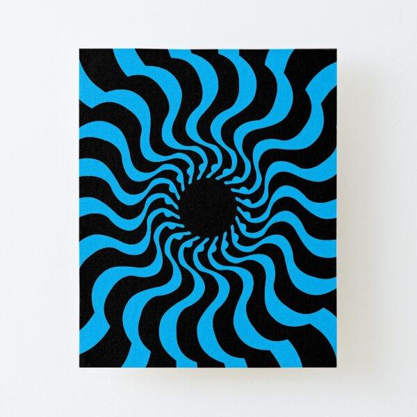 EYE 2 (BLUE) Lámina montada de lienzo