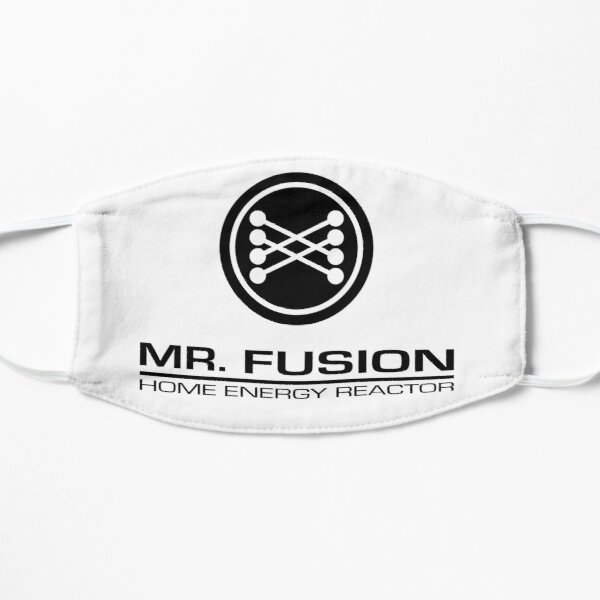 Mr. Fusion Home Energy Reactor Flat Mask