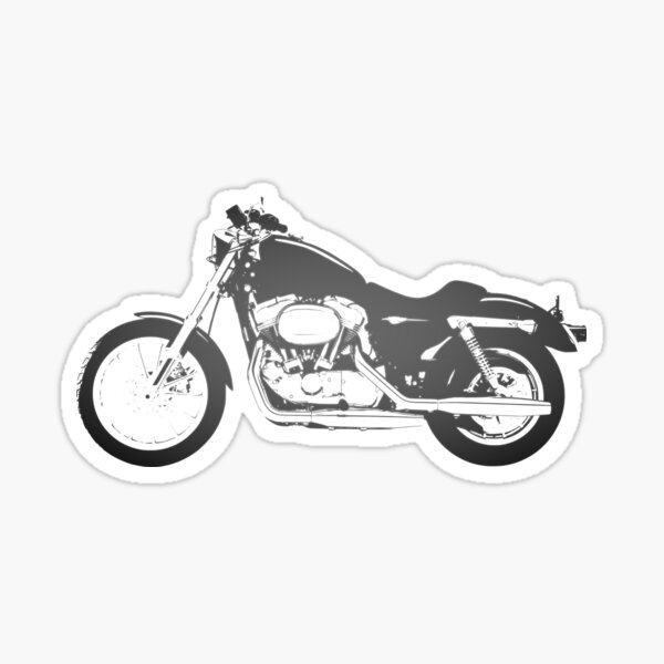 Big  Bike Print for all Bike Lovers in the world BUY NOW !  Sticker