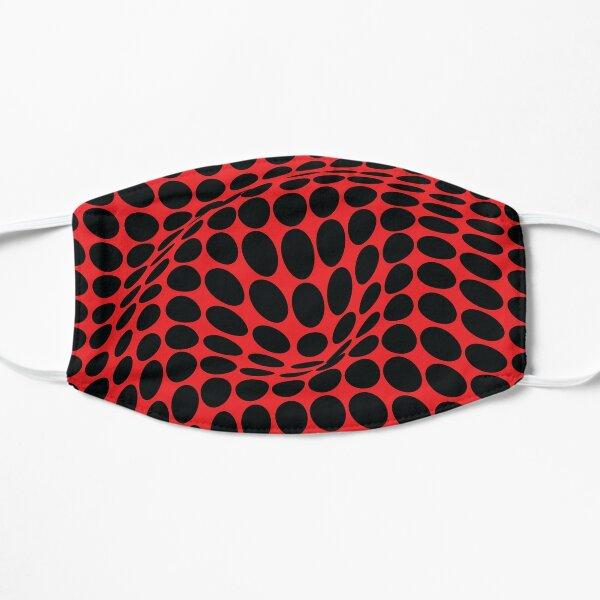 COME INSIDE (RED/BLACK) Mascarilla plana