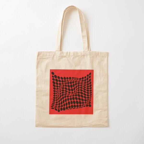 COME INSIDE (RED/BLACK) Bolsa de algodón