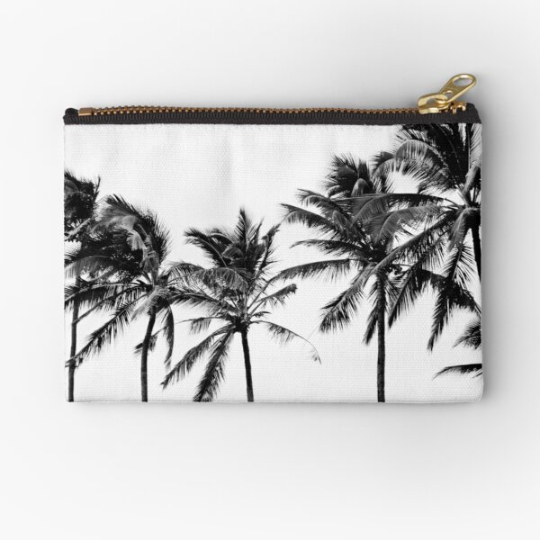 BW Palms Zipper Pouch