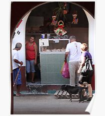 Market Impression - Impresión De Un Mercado Poster